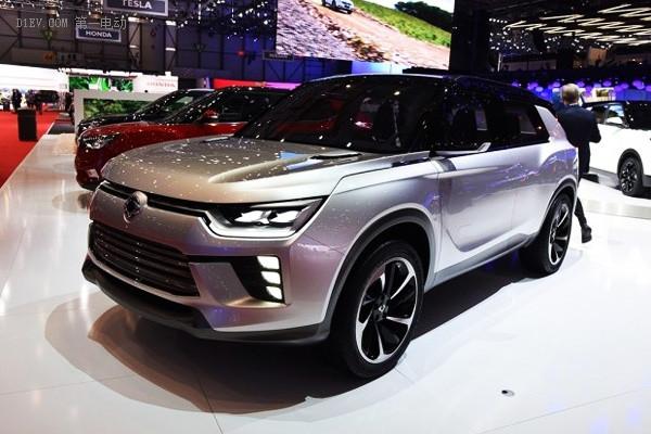 基于全新柯兰多 双龙2019年推纯电动SUV