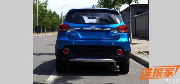 造型更时尚 北汽新能源新小型车申报图