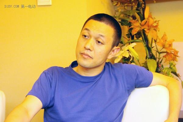 李斌接受第一电动网专访