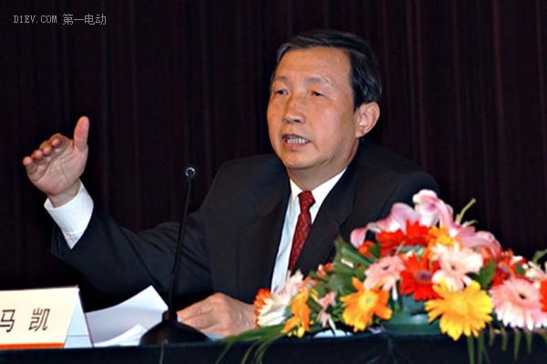 中共中央政治局委员、国务院副总理马凯