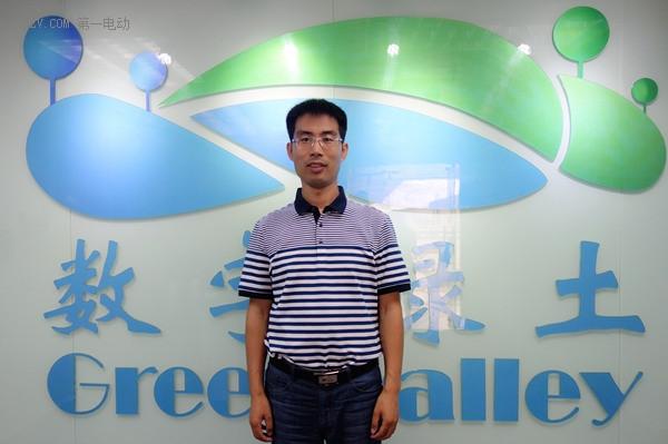 北京数字绿土科技有限公司副总经理赵宝林