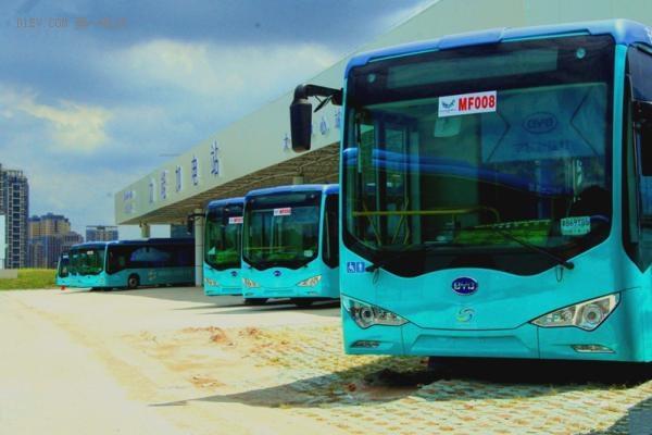 获7419辆新能源车订单 比亚迪独占近一半深圳纯电公交车市场