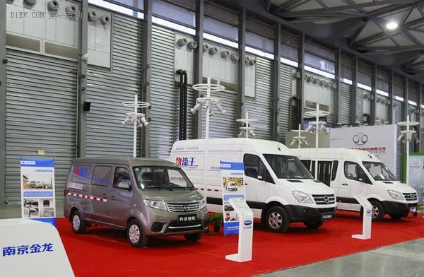 南京金龙开沃重磅车型亮相第二届全球新能源汽汽车大会(上海)交易展