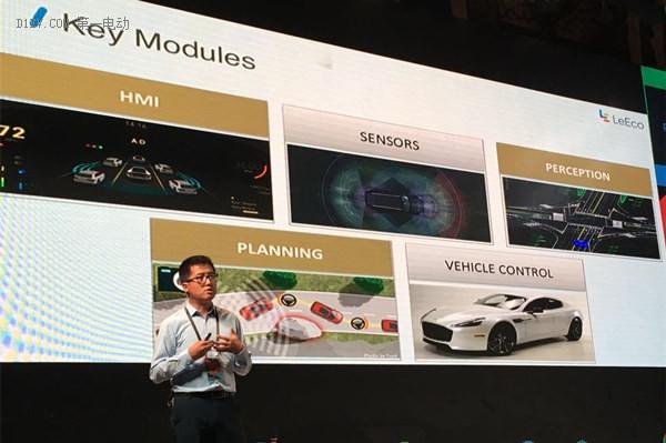 乐视自动驾驶技术研发重点