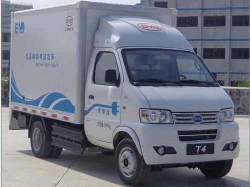 搭载磷酸铁锂电池 比亚迪推出T4纯电动货车