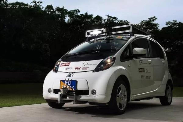 新加坡与MIT联合研发的无人驾驶车