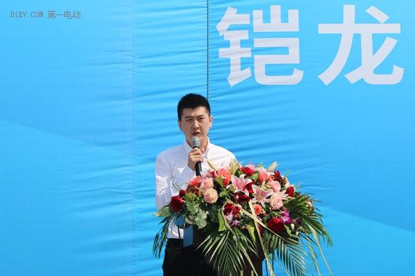 铠龙东方汽车有限公司总经理张磊