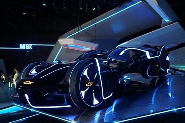 """雪佛兰三款全新概念车发布 现实版""""创战纪""""惊现于世"""
