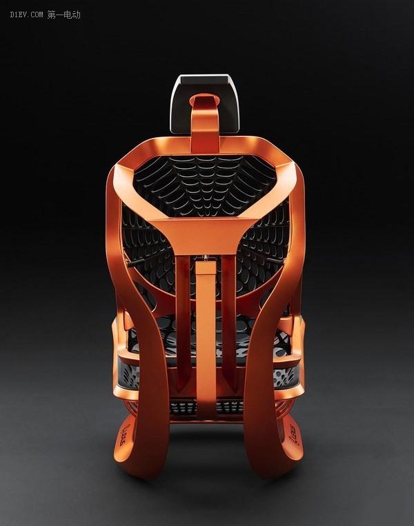 雷克萨斯发布黑科技概念座椅 蜘蛛网材料合成密恐者慎入