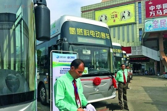 氢能源城市公交车