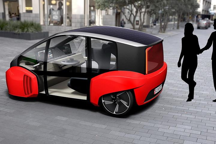 瑞士将产自动驾驶概念车 明年一月亮相拉斯维加斯