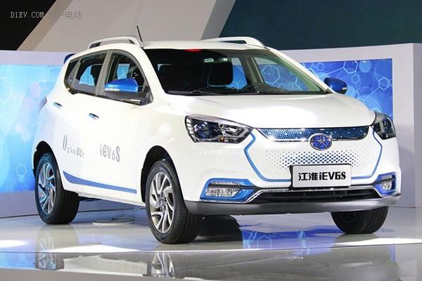 江淮iEV6S电动SUV
