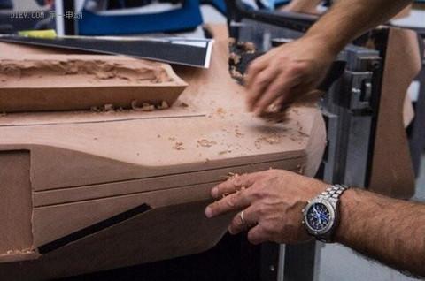 福特打造黏土车身