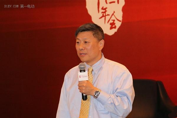 南京金龙首席科学家、副总裁张蒙阳