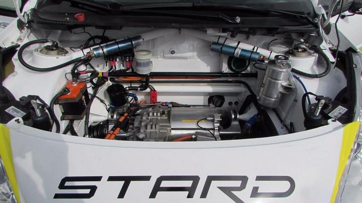 世界首台电动拉力赛车诞生 最高时速195km/h