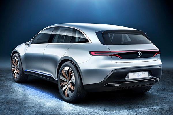 纯电动SUV 奔驰新概念车广州车展亮相
