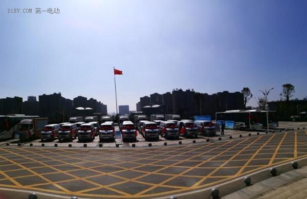 沃特玛创新联盟纯电动大巴助力湖南宁乡学术会议