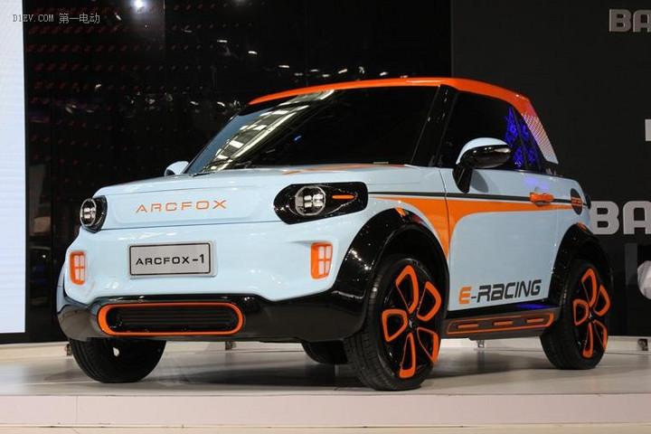 ARCFOX再次亮相车展北汽新能源双品牌战略加码升级