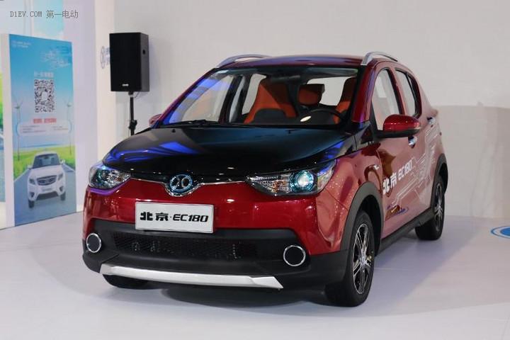 北汽EC180值得期待的国民电动车 预计2017年初上市