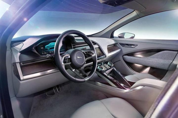 2016洛杉矶车展:纯电动SUV捷豹I-PACE概念车发布