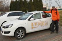 EV英雄会| 江淮IEV4的津京之旅 ,廊坊郊区部竟然有充电桩