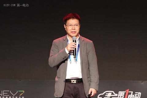 力帆集团副董事长、首席科学家陈卫