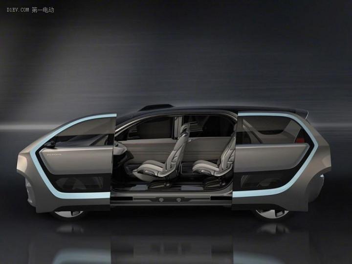 克莱斯勒Portal概念车官图