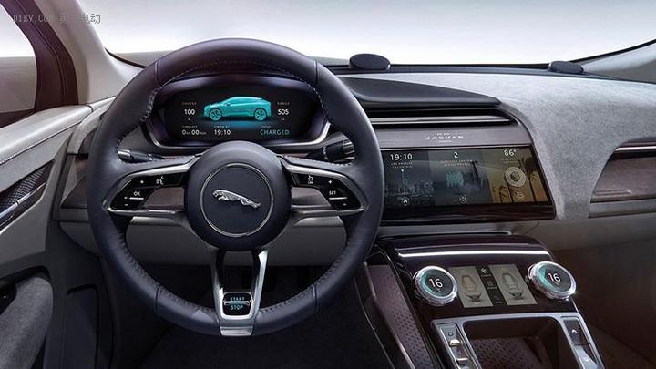 捷豹首款纯电动SUV车型,将于2018下半年正式推出