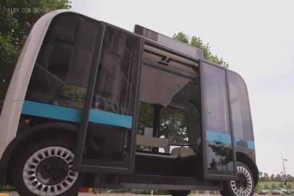 韩国2月起将首推无人驾驶电动公交车载客服务