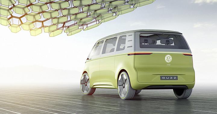 大众汽车品牌零排放厢型车I.D. BUZZ于底特律全球首发