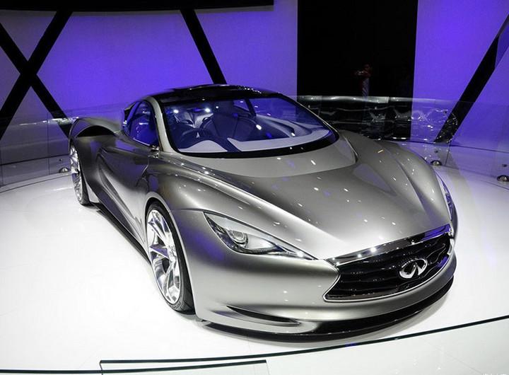 似Emerge-e 英菲尼迪拟2020推纯电跑车