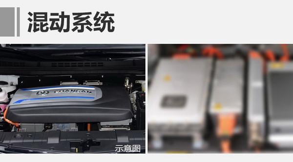 长安逸动插电混动版实车曝光 油耗仅1.6升