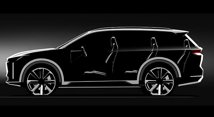 中大型SUV/SEV低速电动车预告图曝光,车和家李想坚持打擦边球