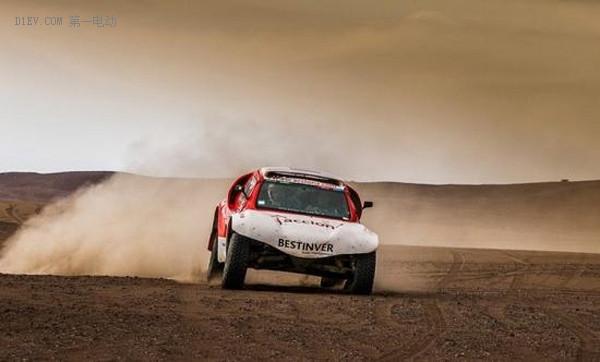 排名不高也是突破 电动车达喀尔拉力赛首度完赛