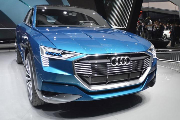 奥迪纯电SUV将采用保时捷纯电动平台 2018年发布续航超500km