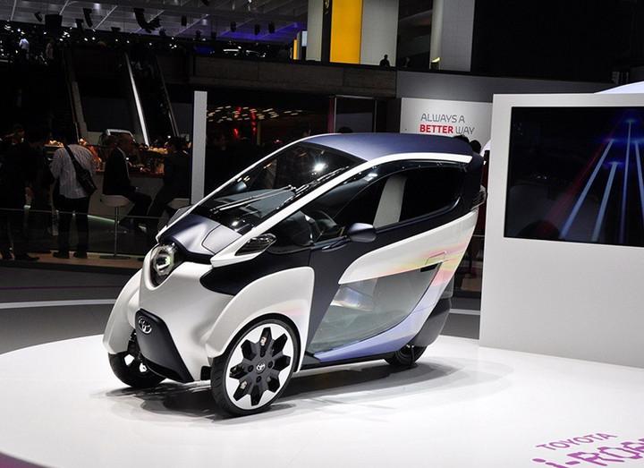 2030年城市交通工具,丰田全新概念车日内瓦发布