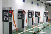 常州首座新能源公交车充电站启用 可供8辆车同时充电