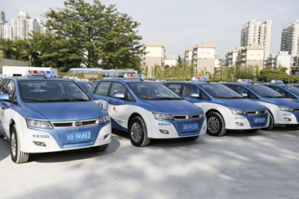 深圳推广比亚迪电动出租车已超5500辆