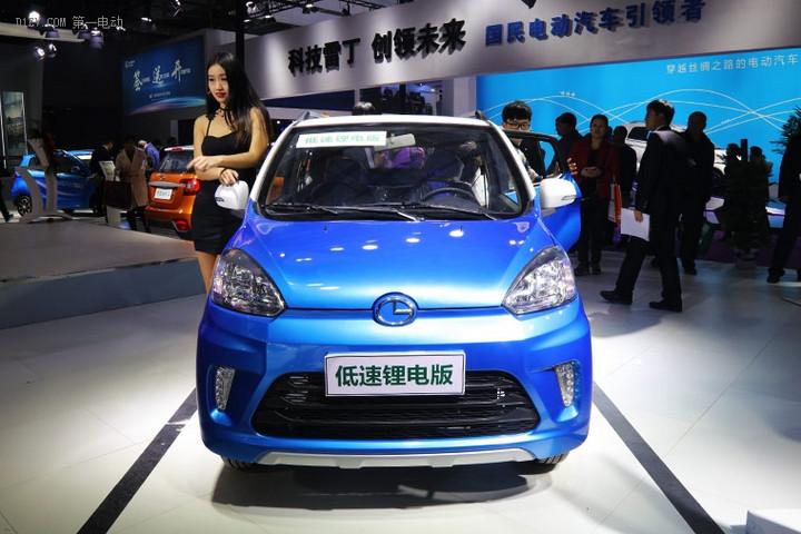 济南展会巅峰对决欧陆SUV再添新丁 低速锂电SUV首次亮相