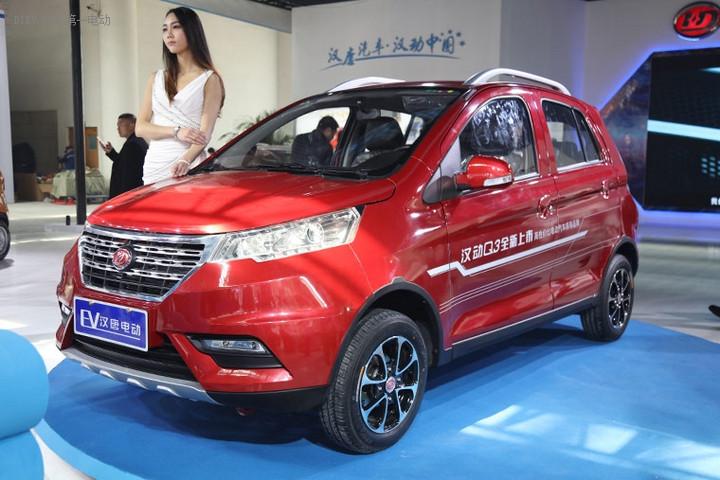 济南展首日 汉唐电动汽车多款新车型首发亮相
