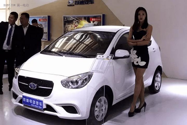 跃迪多款车型亮相济南车展 YD360锂电版首次发布
