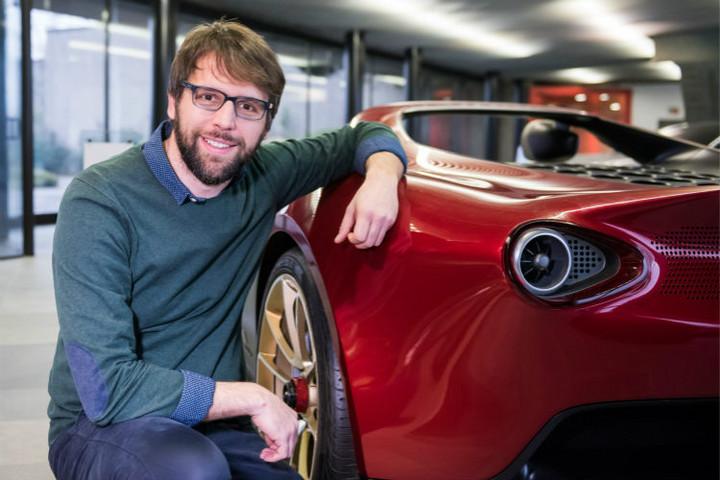 宾尼法利纳集团设计工作室总监卢卡•博格洛(Luca Borgogno)