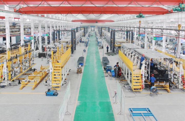 杭州比亚迪余杭厂焊装车间
