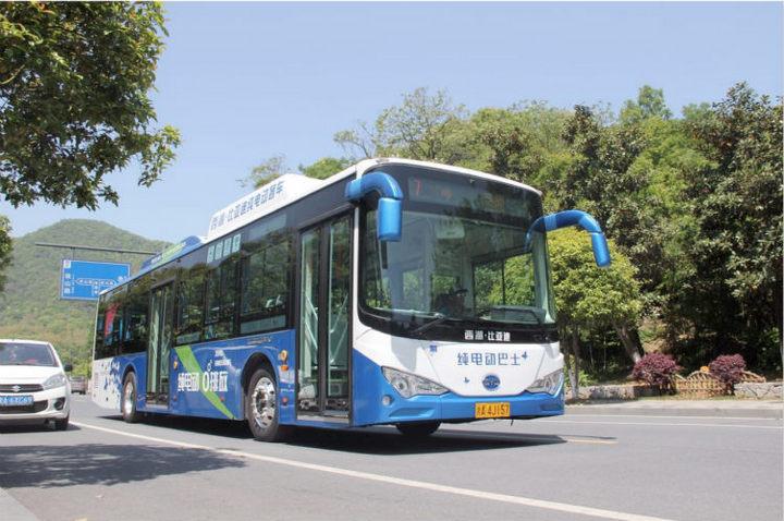 比亚迪K9纯电动公交车