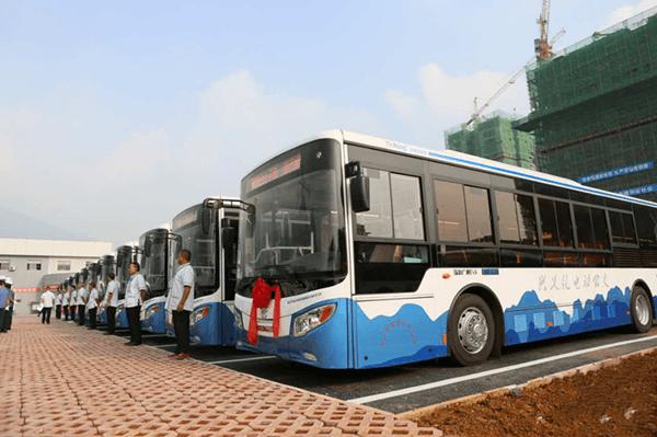 37城创建公交都市,全国新能源公交达16.4万辆