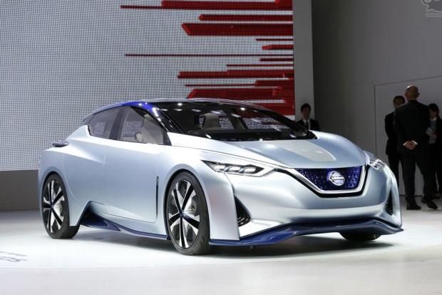 日产2020年投放续航550km全新纯电动车 原型车开始测试