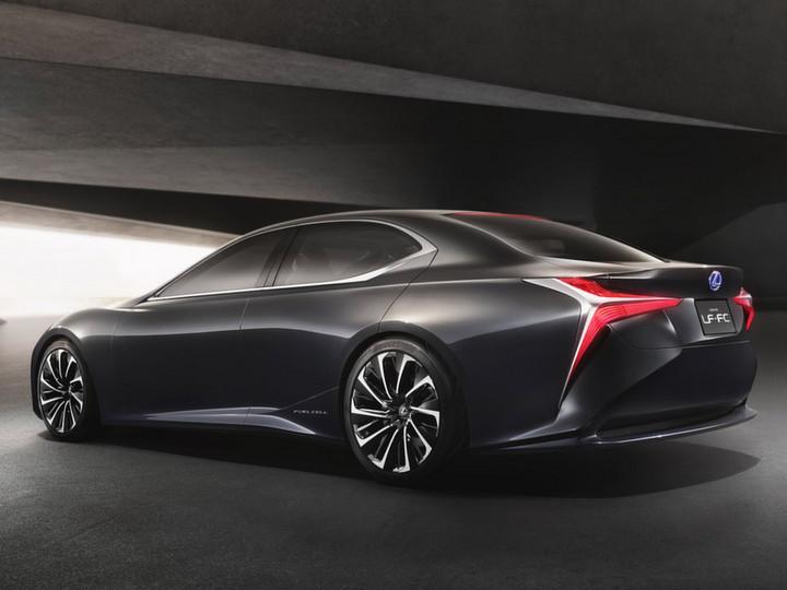 意想不到 雷克萨斯换代LS推氢燃料电池版