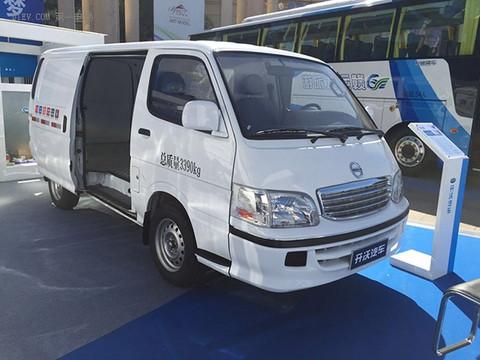 开沃D09纯电动厢式运输车