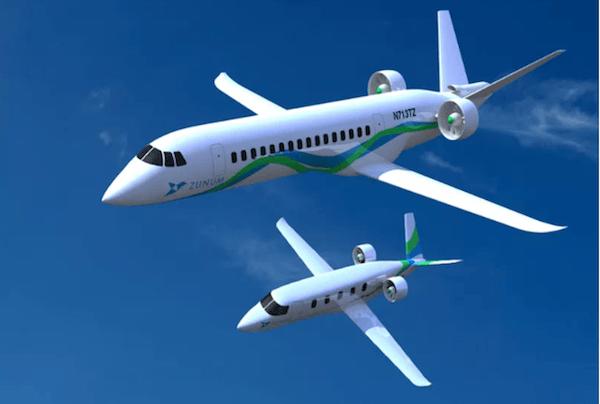电动概念飞机