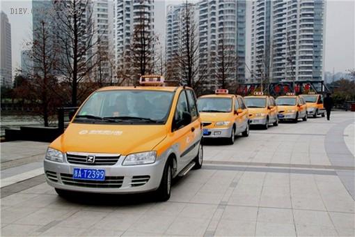 众泰纯电动出租车